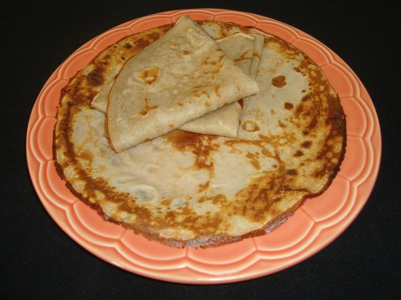 Crêpes de Sorgho ( sans gluten )