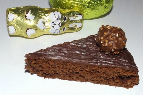 Gâteau de Pâques au chocolat ( sans oeuf )2