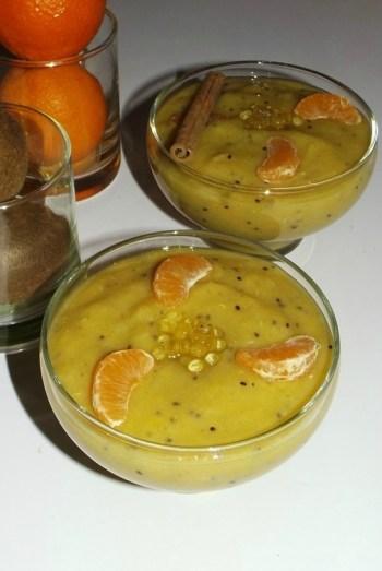 Soupe de fruits exotiques aux perles de Miel