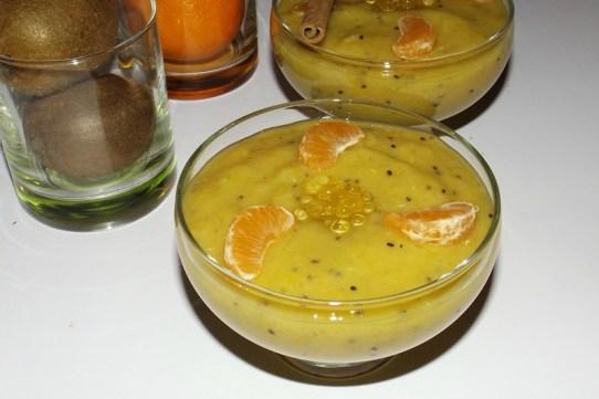 Soupe de fruits exotiques aux perles de Miel3