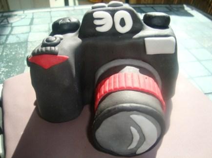 Gâteau appareil photo en pâte à sucre2