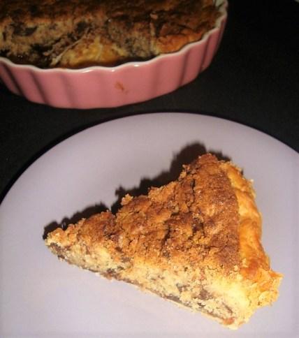 Tarte crumble de cookies à la confiture de fraises (2)