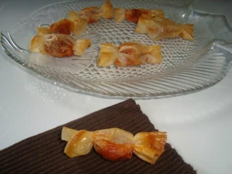 bonbons au thon à la tomate