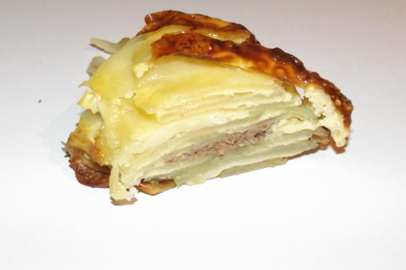 couronne de pommes de terre au pâté et au brie1