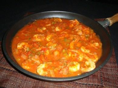 crevettes à la sauce épicée au cajun2