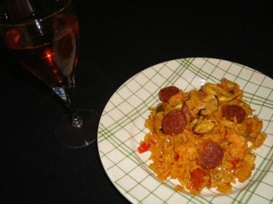 paella fruits de mer, chorizo et poulet3