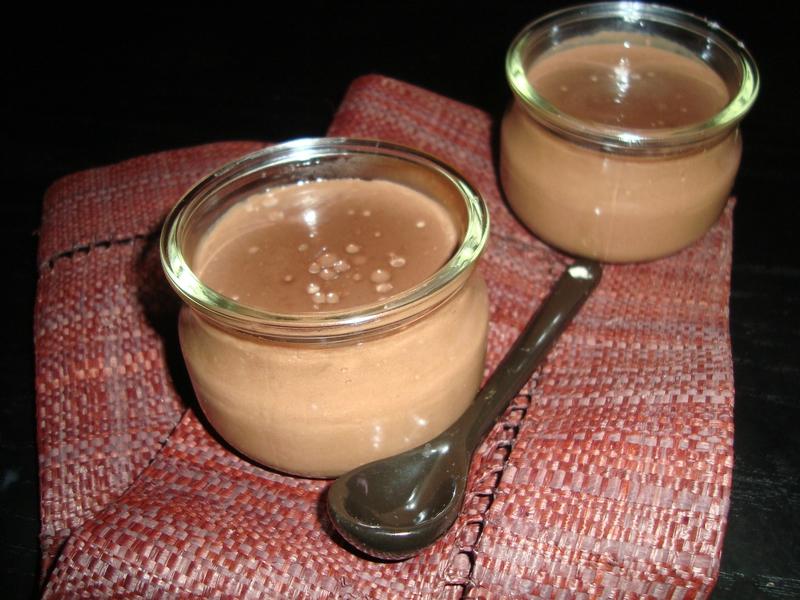 Crème chocolat à la poudre de cacao
