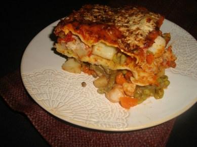 Lasagnes indiennes aux légumes Korma2