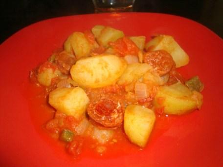 Mijoté de légumes au chorizo2
