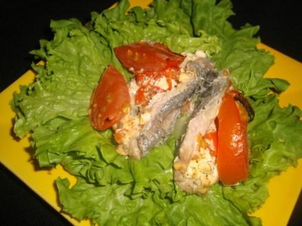 Sardines farcies