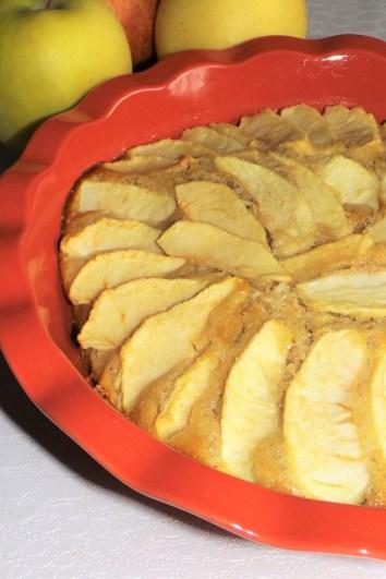 Moelleux aux pommes et à la frangipane3