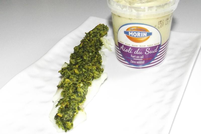 Cabillaud en croûte d'ail et de persil 1 (24 09 2020)