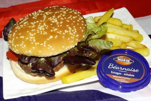 Hamburger au boeuf mozzarella et sauce béarnaise4