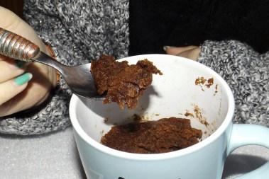 Mug cake au chocolat 3