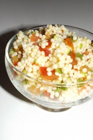 Salade de perles façon taboulé 2 (11 09 2020)