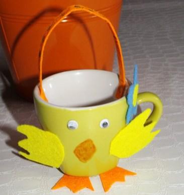 Tasse Poussin de Pâques