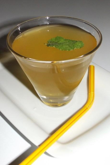 Thé glacé pamplemousse, vinaigre de cidre et menthe 3 (12 09 2020)