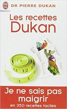 2B- Les recettes Dukan -- Mon régime en 350 recettes (Livre de poche)