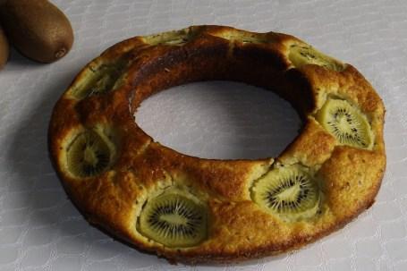 Moelleux à la purée de kiwi