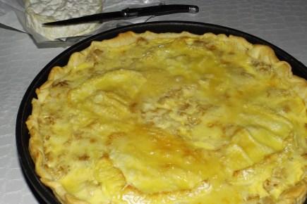 Tarte aux chou-fleur et au camembert2