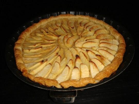 Tarte aux pommes rapide et facile
