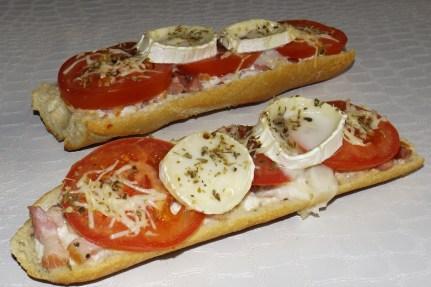 Pizza baguette Venezia