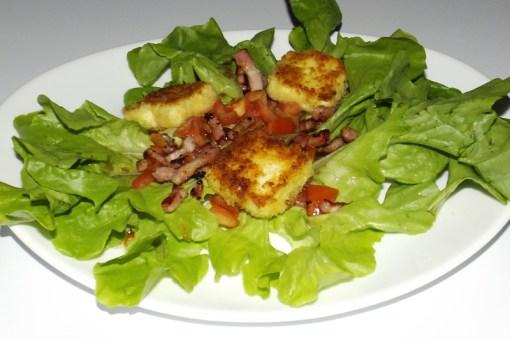 Salade composée aux Kiri® panés
