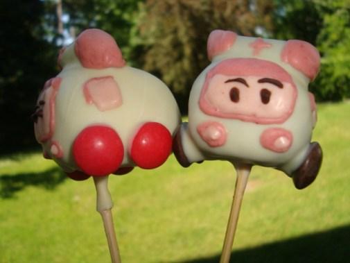 Cake pops robocar poli ( Poli et Ambre )7