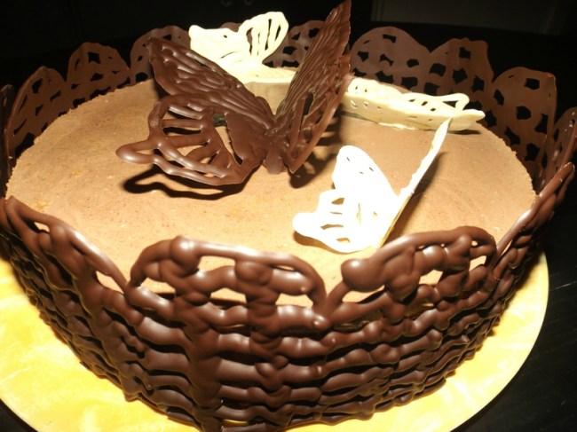 Comment faire des papillons volants en chocolat3