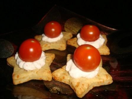 Etoiles salées à la crème de thon