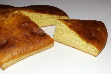 Gâteau aux jaunes d'oeufs et à la vanille