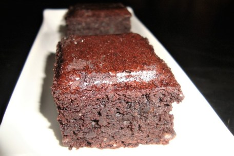 Le brownie incroyable aux haricots rouges ( sans gluten )2