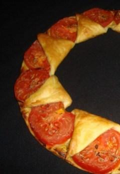 Tarte couronne tomates et moutarde (2)