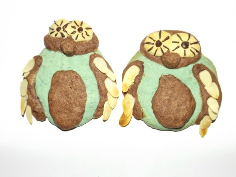 Biscuits sablés Chouette2