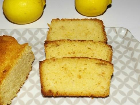 Cake citron, amande, huile d'olive et miel3