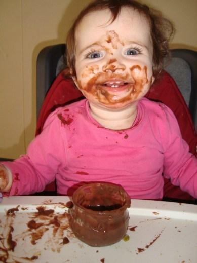 Crème au chocolat ( sans lactose, sans beurre et sans gluten )2