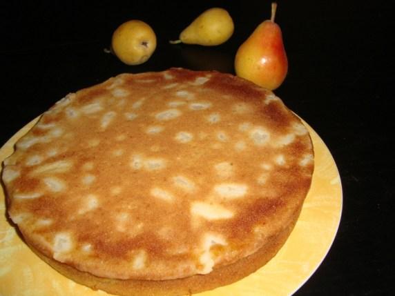 Gâteau aux poires et à la limonade2