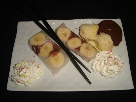 Rouleaux de Printemps sucrés façon Banana Split2