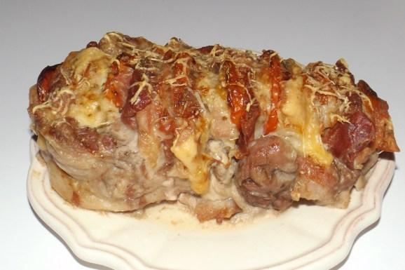 Rôti de porc Orloff ( Jambon de Parme, gruyère et tomate ).jpg