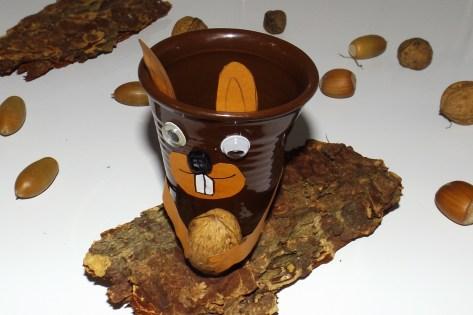 Tasses à café expresso froissé Ecureuil 3