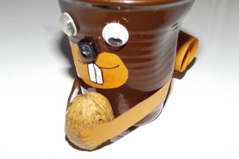 Tasses à café expresso froissé Ecureuil e