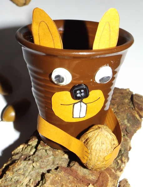 Tasses à café expresso froissé Ecureuil4