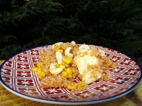 Wok de poulet au quinoa et au maïs ( sans gluten ).jpg