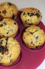 Muffins américains au coeur Nutella4