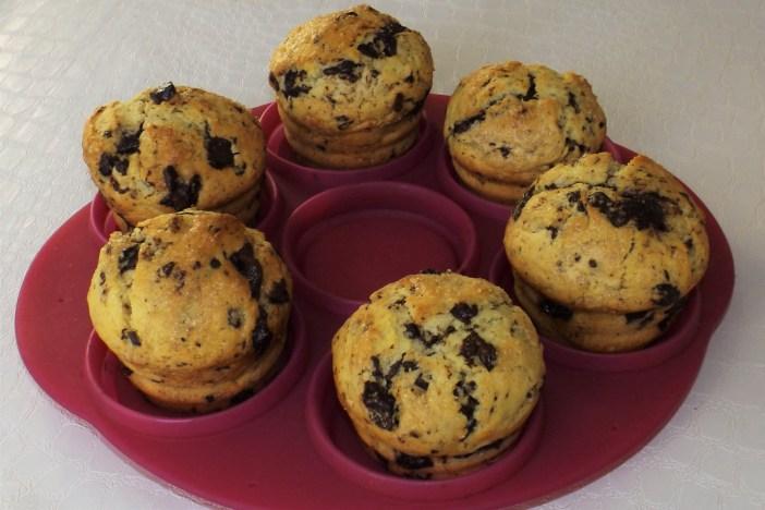 Muffins américains au coeur Nutella5