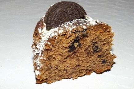 Bundt cake chocolat et Oréos 2