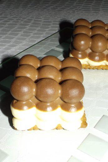 Mini bavarois mousse aux 2 chocolats express2