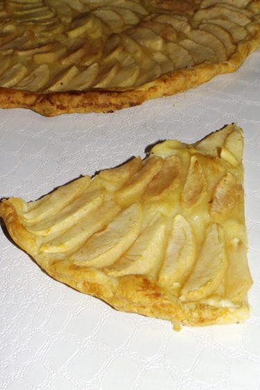 Tarte aux pommes à la cannelle (recette inratable express)3