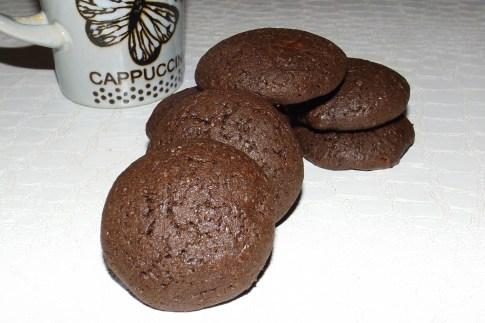 Cookies triple chocolat au sarrasin