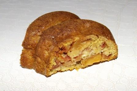 Gâteau aux pommes peu calorique2